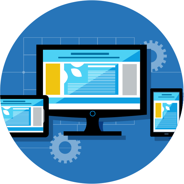 Dynamic website Design & Development Icon